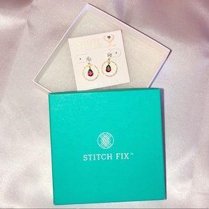 STITCH FIX: Sterling Silver Earrings